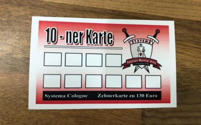 Neu – 10er Karte Systema Training in Köln.