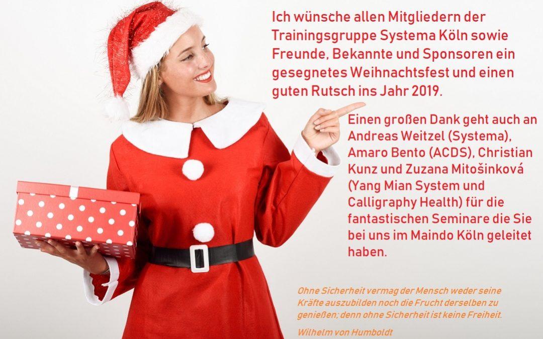 Weihnachtsgrüße Systema – Köln