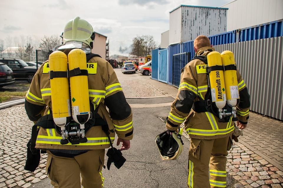 Die Feuerwehr, mehr Sicherheit für die Helfer