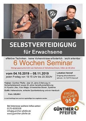 Selbstverteidigung – Seminar in Hennef – Rhein Sieg Kreis
